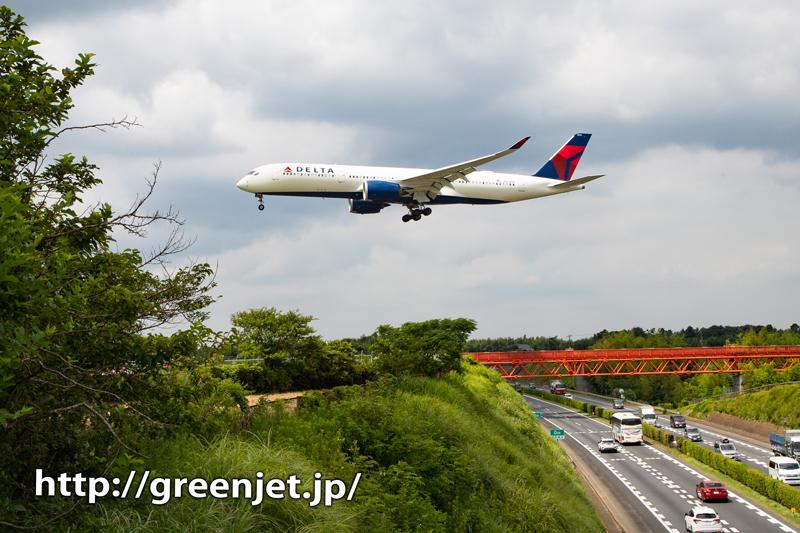 今のうちにデルタのエアバスA350~成田