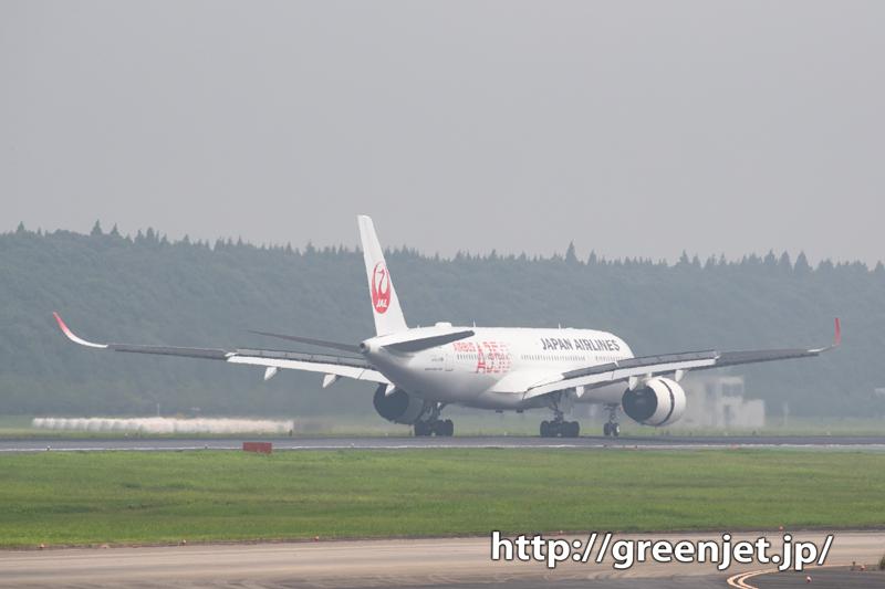 JALエアバスA350~十余三東雲の丘!