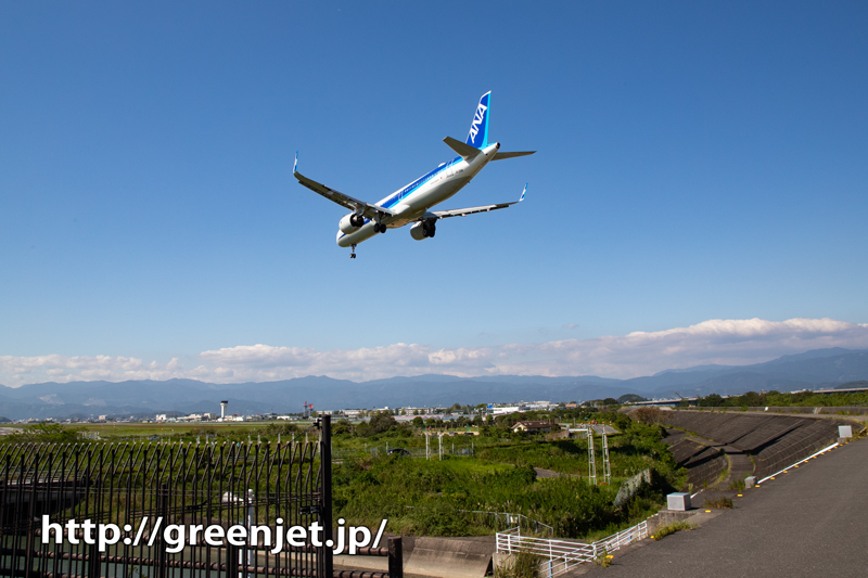 【高知龍馬空港の飛行機撮影ポイント】RWY32エンド