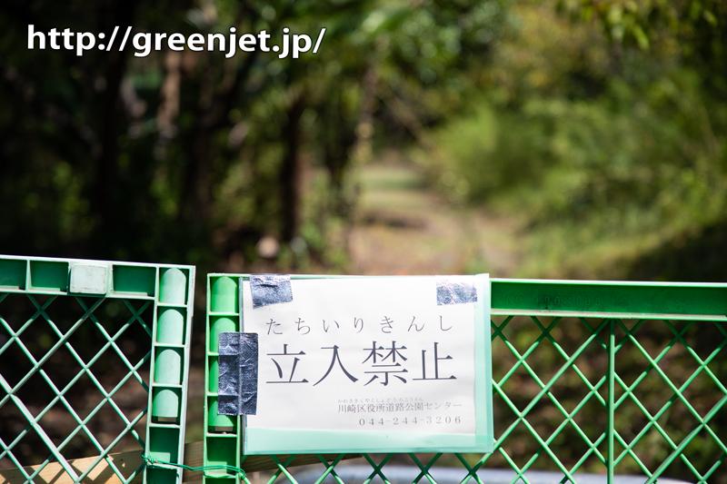 ショック!浮島町公園が立ち入り禁止に。。