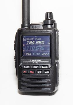 Bluetooth対応の無線機 FT3D