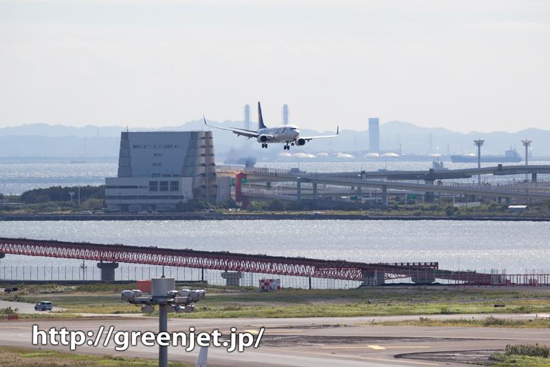 羽田で撮るキラキラ海とBリーグジェット!