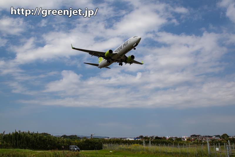 【宮崎飛行機撮影ポイント】RWY09エンド