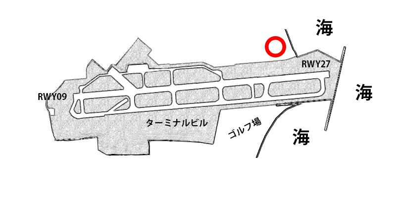 【宮崎飛行機撮影ポイント】RWY27エンド