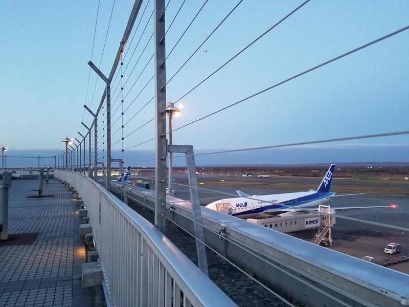 【新千歳の飛行機撮影ポイント】展望デッキ
