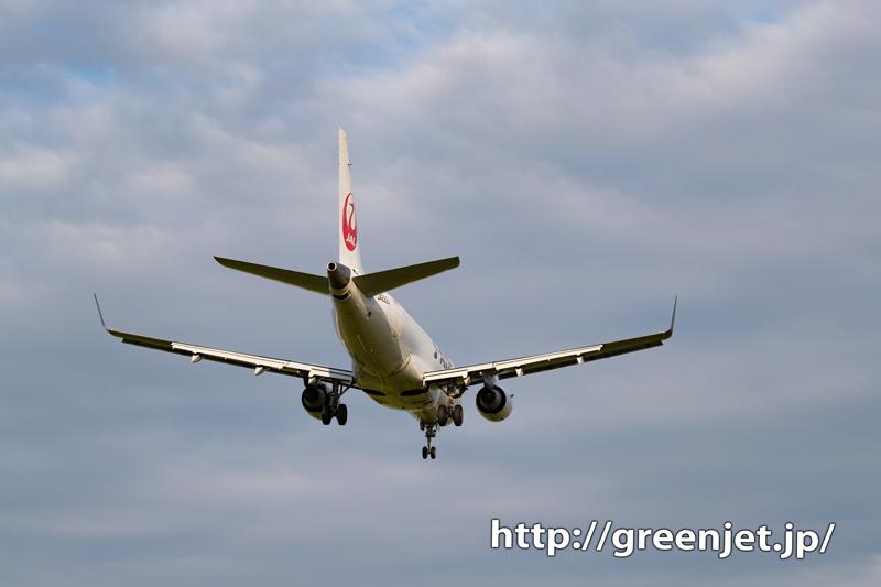 夕暮れの美しい飛行機写真を宮崎で撮った!