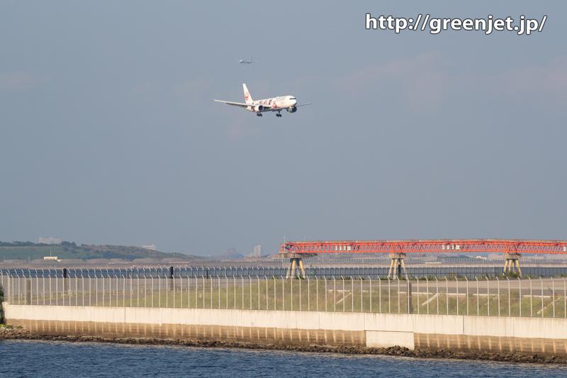 JAL 2020ジェット2号機を捉える!