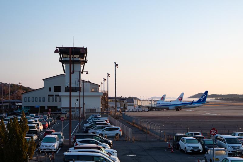 【岡山の飛行機撮影ポイント】第四駐車場