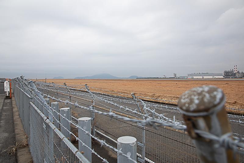 【松山の飛行機撮影ポイント】新和工業入口前
