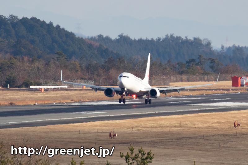 【岡山の飛行機撮影ポイント】RWY07南側の丘