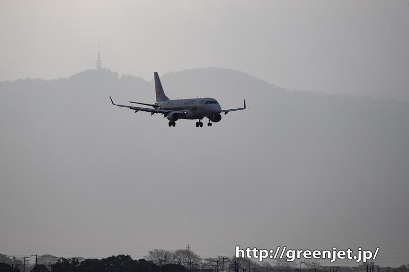 【松山の飛行機撮影ポイント】南吉田第二公園