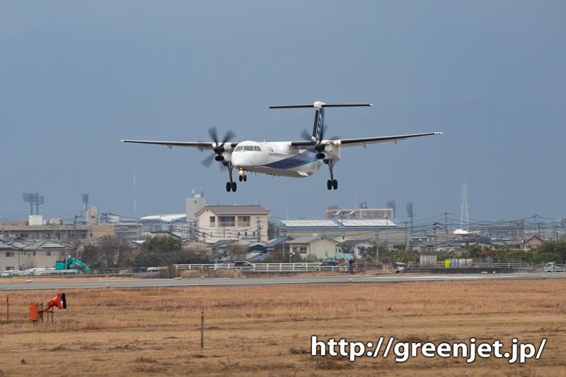 【松山の飛行機撮影ポイント】空港南第二公園