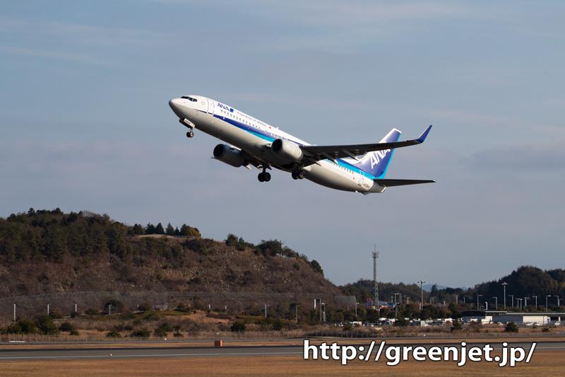 【広島の飛行機撮影ポイント】RWY10エンド南側