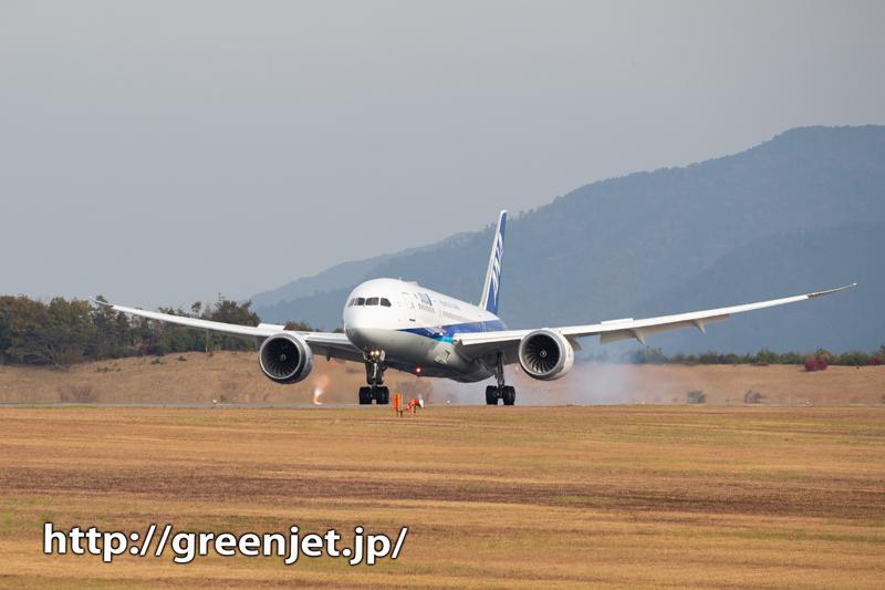 【広島の飛行機撮影ポイント】ターミナルビル反対側