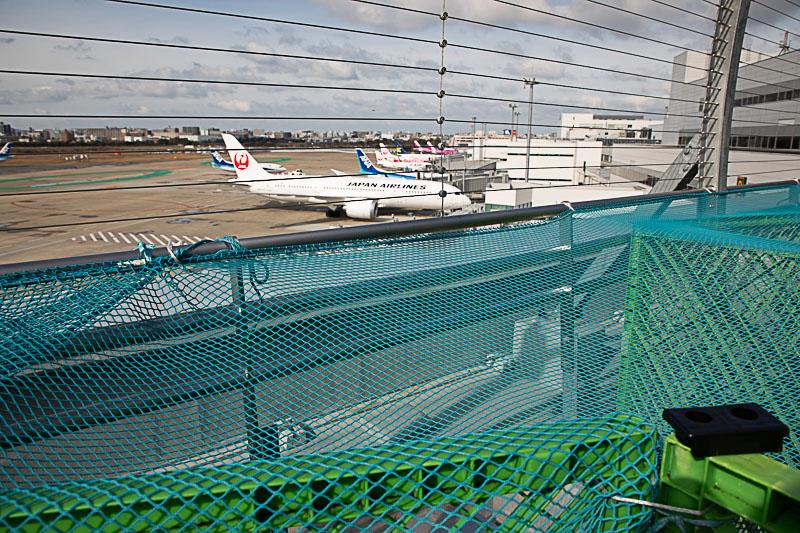 【福岡の飛行機撮影ポイント】国内線送迎デッキ