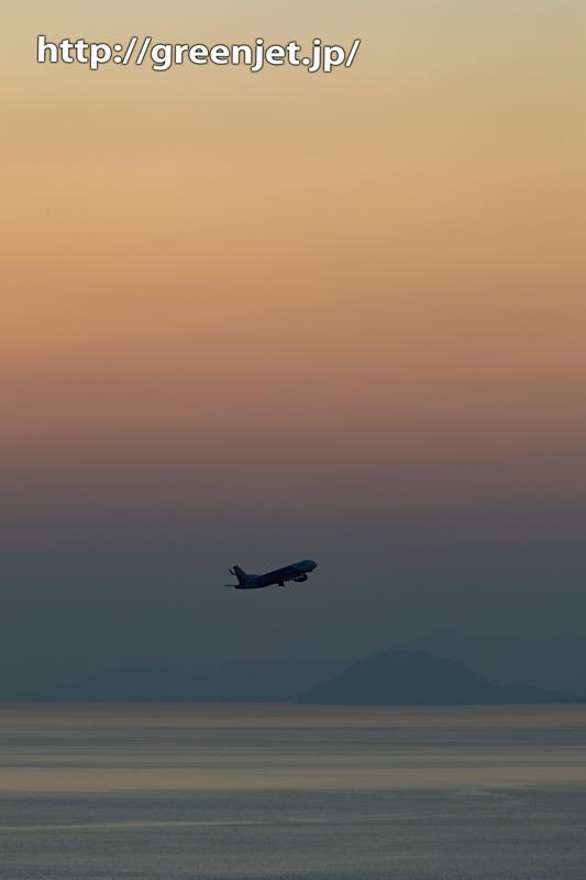 【松山の飛行機撮影ポイント】垣生山展望台