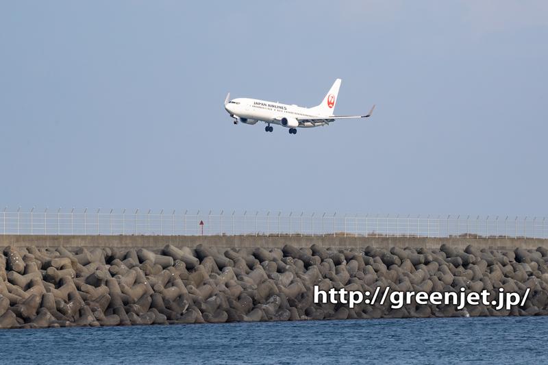 【徳島空港】飛行機撮影ポイントです!