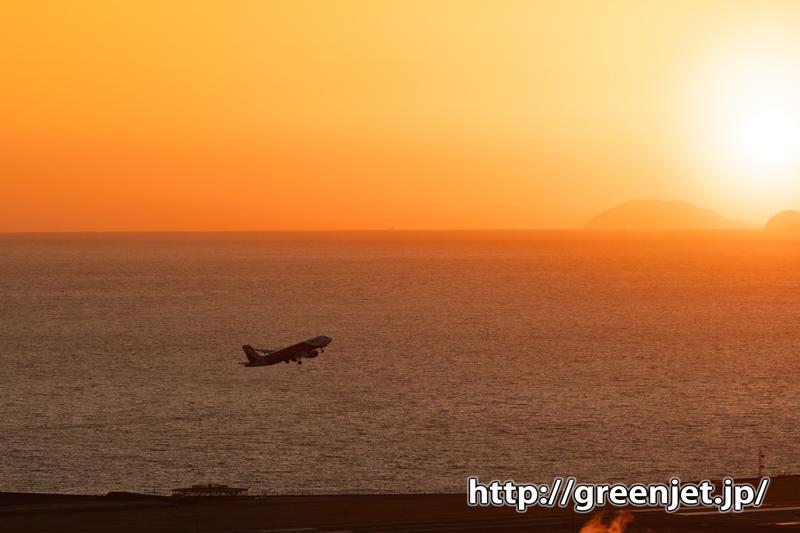 続々・垣生山で時を待つ@感動の飛行機写真