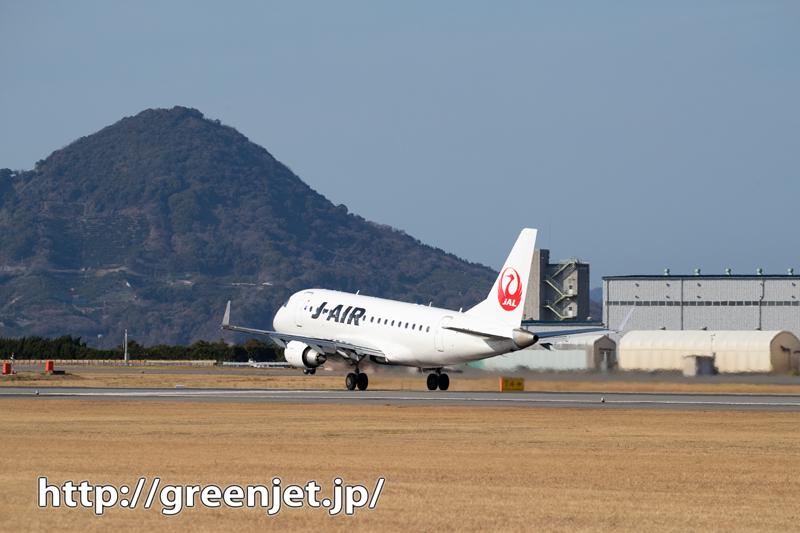 松山で山と絡むメッチャ良い感じの飛行機!