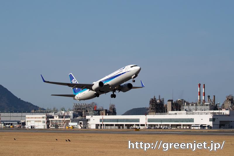 飛行機と管制塔と工場と。。@松山