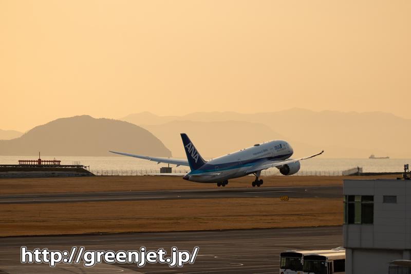 松山遠征の終焉~飛行機写真