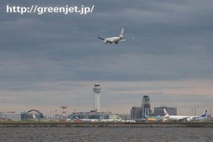 羽田の管制塔に新しい飛行機の絡み方だね
