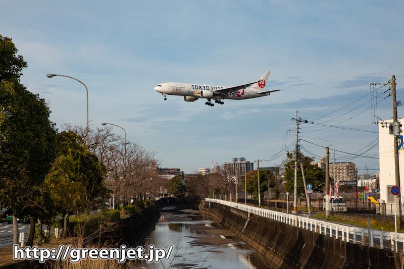 飛行機写真~福岡で小川を絡めて特別塗装機