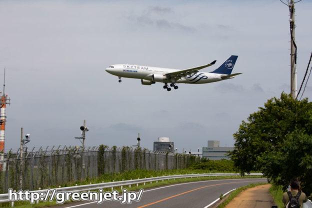 成田で飛行機~やっぱスカチーは最高だね