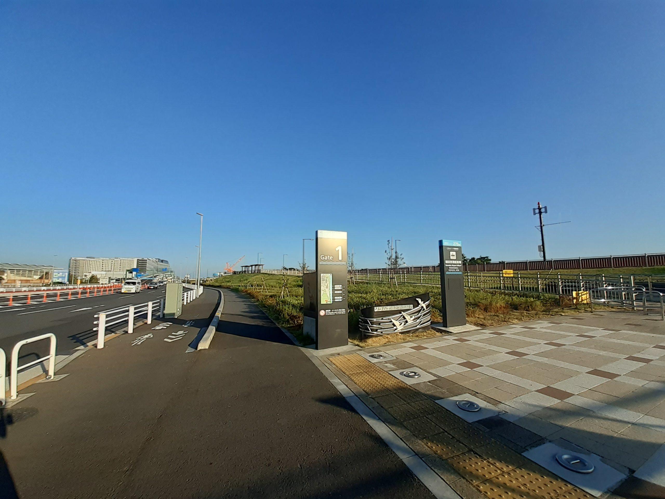 【羽田の飛行機撮影ポイント】ソラムナード羽田緑地