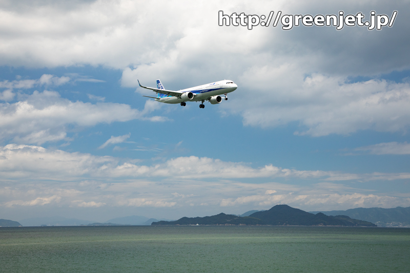 【岩国の飛行機撮影ポイント】RWY20エンド