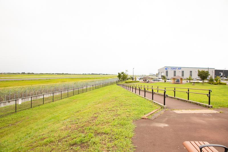 【仙台の飛行機撮影ポイント】臨空公園