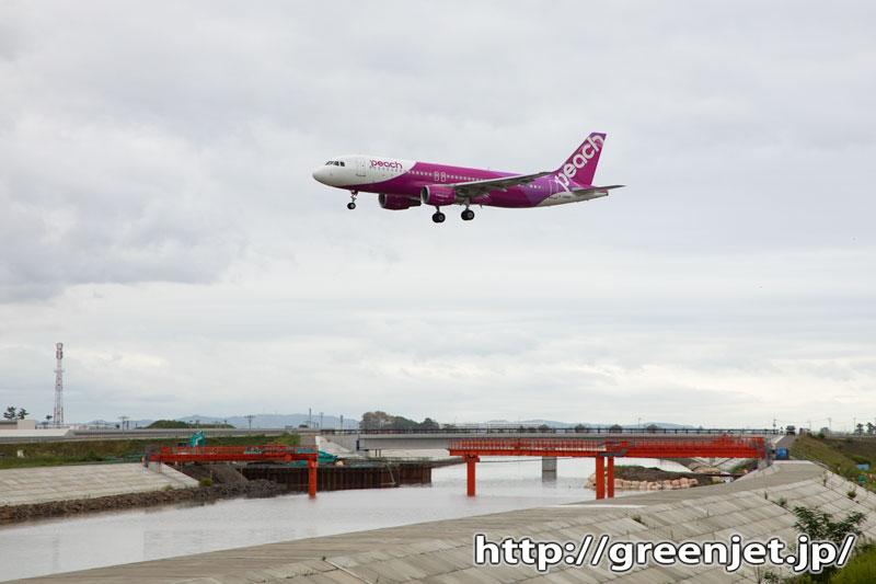 【仙台の飛行機撮影ポイント】RWY27エンド