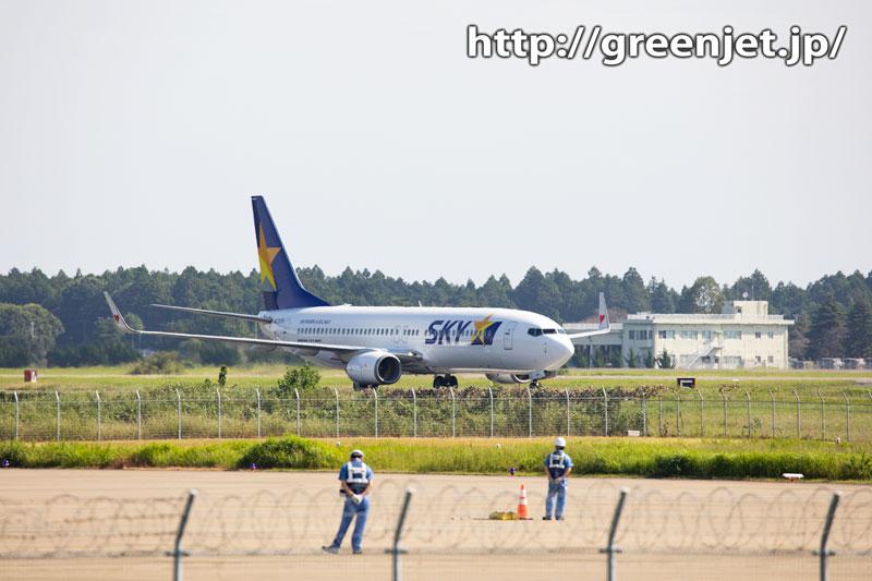 【茨城の飛行機撮影ポイント】空港公園