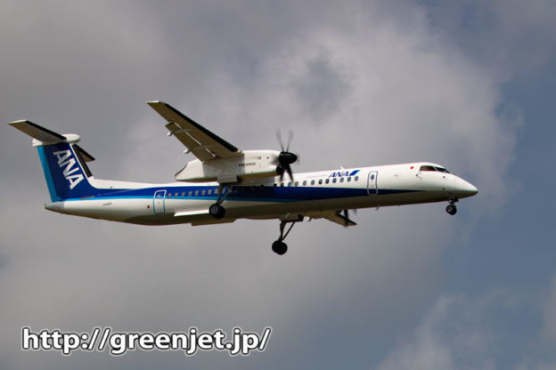 稲穂と飛行機のコラボ写真は美しい!
