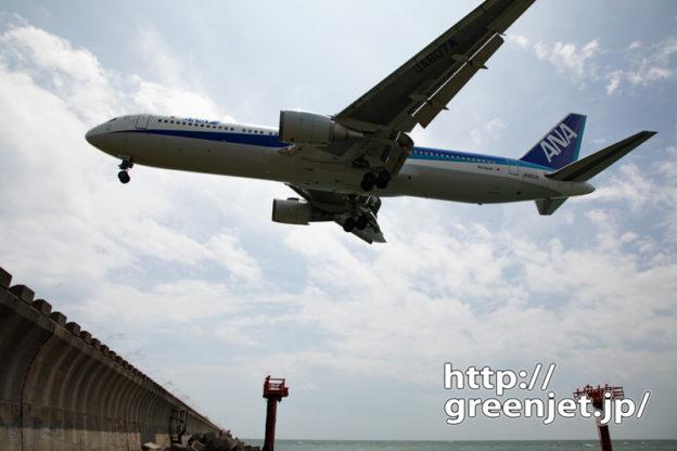 【山口宇部の飛行機撮影ポイント】RWY07エンド