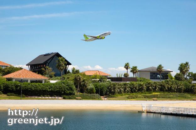 【神戸の飛行機撮影ポイント】神戸空港島西緑地