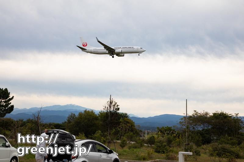【小松の飛行機撮影ポイント】スカイパークこまつ共生の丘