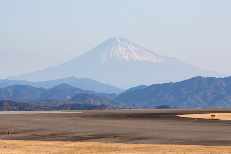 【静岡の飛行機撮影ポイント】西側展望広場