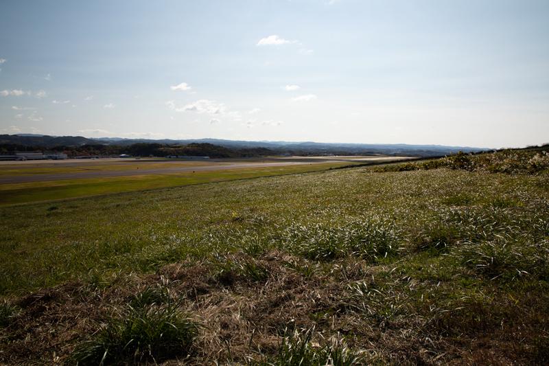 【福島の飛行機撮影ポイント】滑走路西側丘