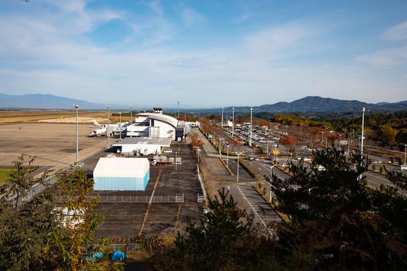 【福島の飛行機撮影ポイント】南展望台