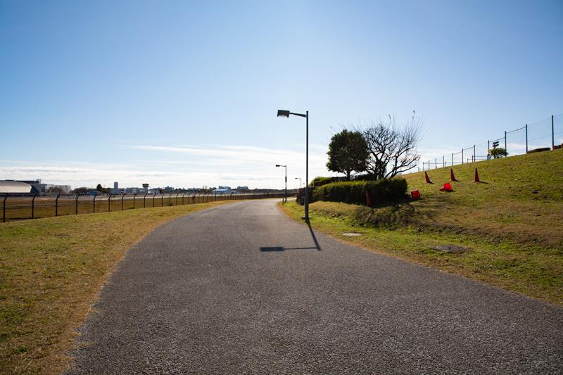 【調布の飛行機撮影ポイント】RWY17エンド西側