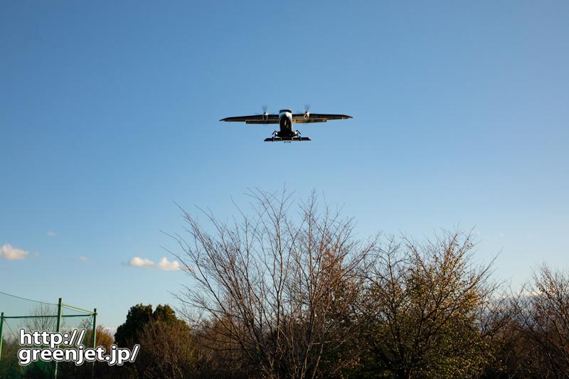 【調布の飛行機撮影ポイント】RWY35エンド