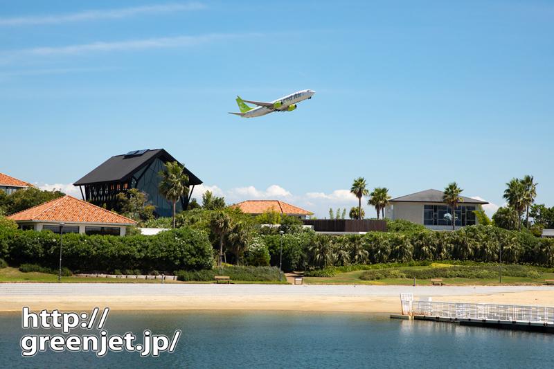 日本とは思えないような飛行機写真を神戸から