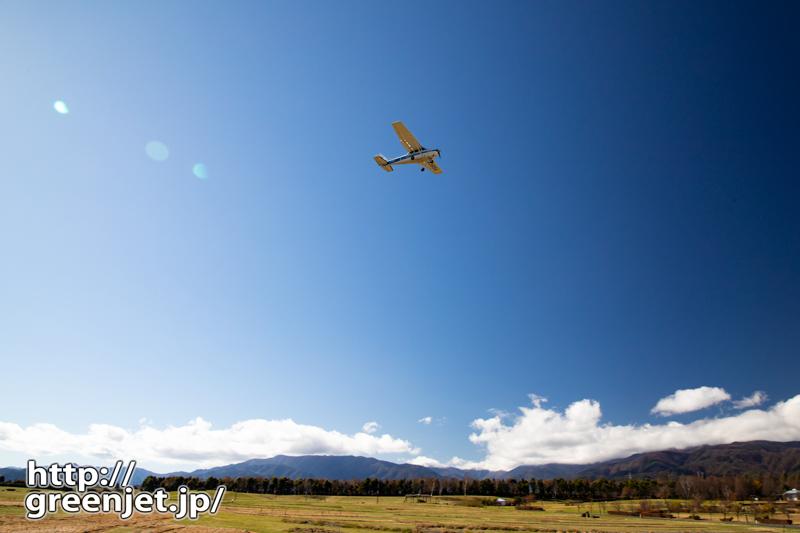 松本空港RWY36の素晴らしき飛行機世界