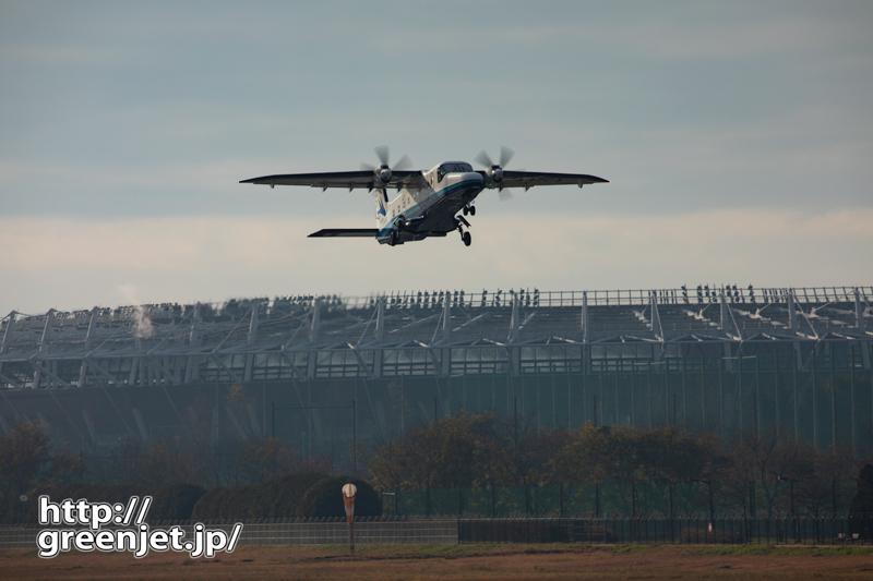 【調布の飛行機撮影ポイント】RWY17エンド東側