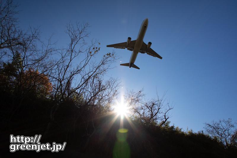 成田で飛行機~山中でGetする飛行機写真