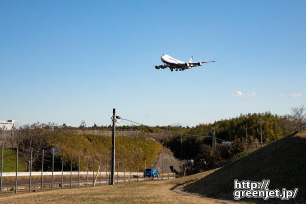 成田で飛行機~ジャンボをこう撮るのもまた楽し