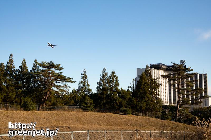 成田で飛行機~高速を降りてコレ!的な..