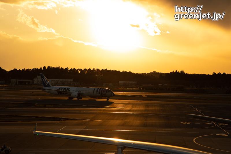 成田で飛行機~これが最後かR2-D2