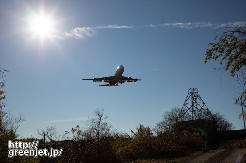 成田で飛行機~続・岩山の大鉄塔を入れて